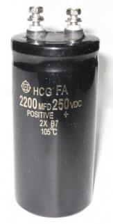 Tụ hóa 250v-2200 microF